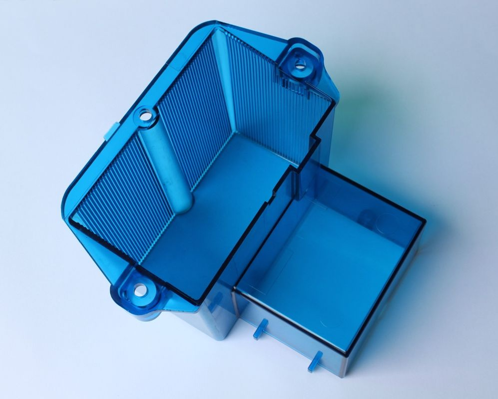 Single / multi Color custom plastic moulding Blue Box  200x300mm